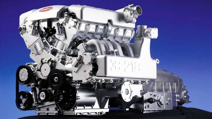 Bugatti W18 engine