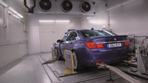 AVL chassis dynamometer with Alpina B7 Biturbo