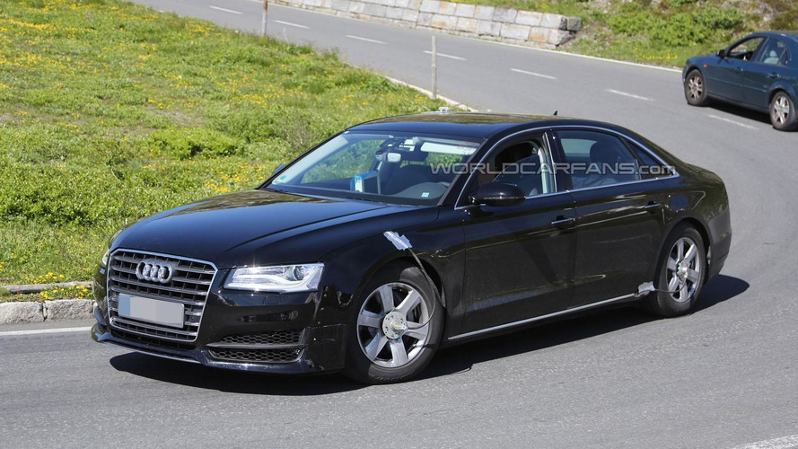 Next-generation Audi A8 spied for the first time