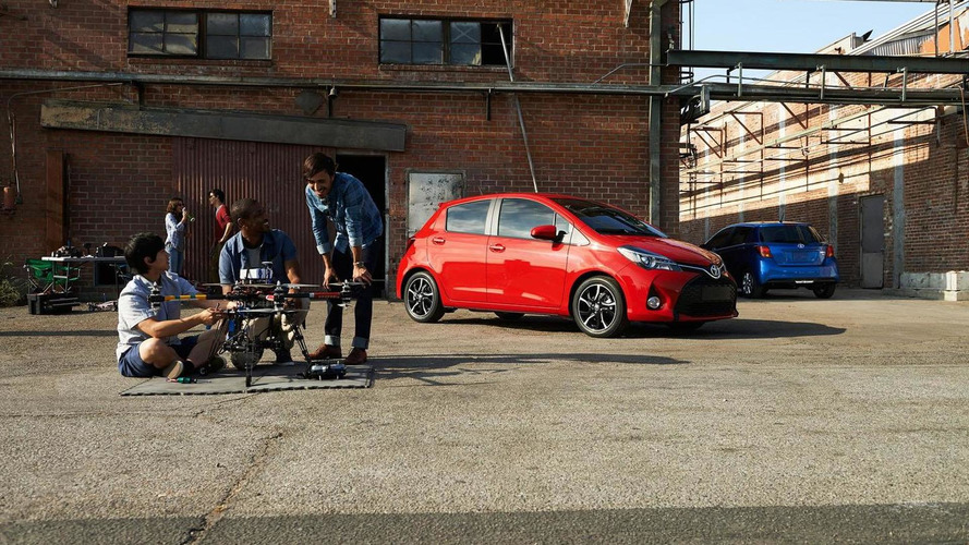 2015 Toyota Yaris facelift unveiled in the United States