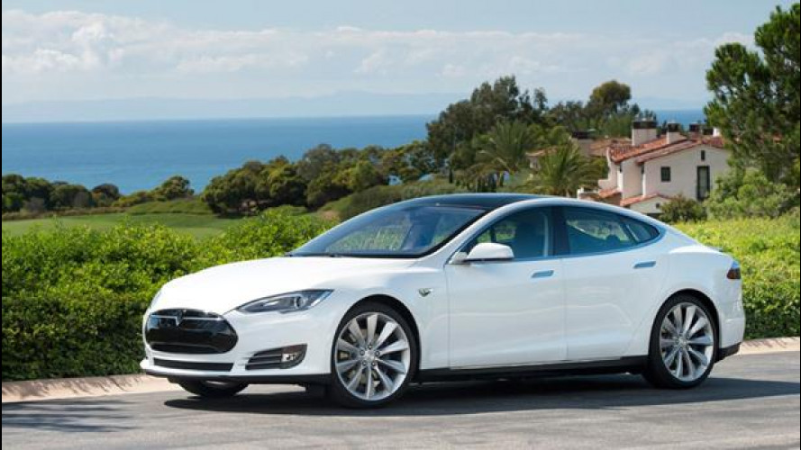 Tesla Model S è arrivata in Italia