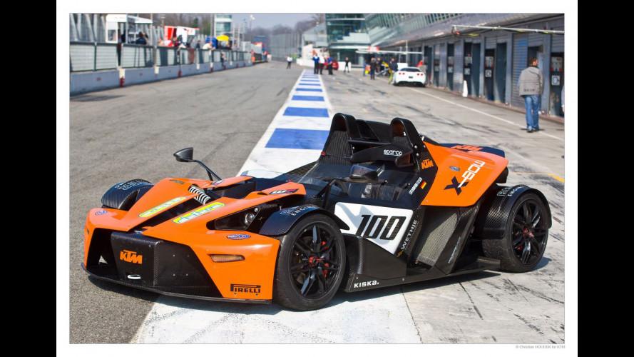 In pista con la KTM X-Bow GT4