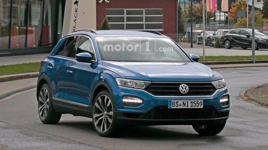 Volkswagen T-Roc R 2019 fotos espía