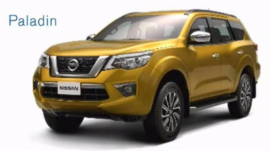 nissan apresentar suv da frontier em 2018. Black Bedroom Furniture Sets. Home Design Ideas