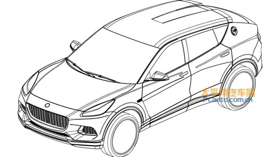Lotus SUV revealed in patent images