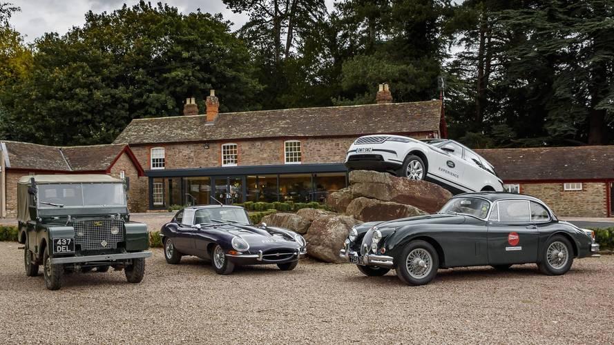 Jaguar Land Rover'dan nostaljik sürüş etkinliği