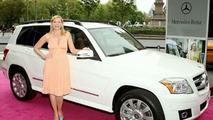 Kim Catrall and Mercedes GLK