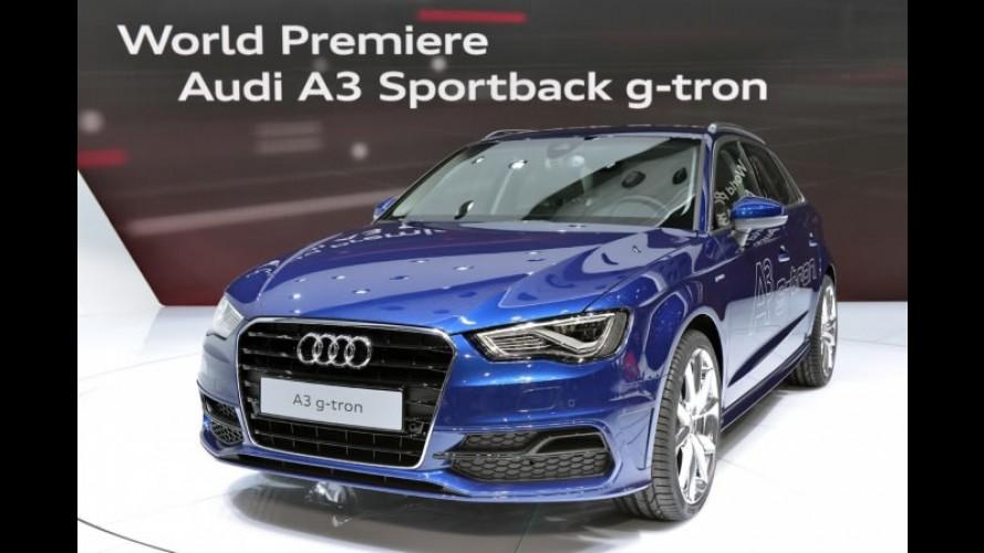 Salão de Genebra: Audi mostra A3 g-tron com autonomia de 1.300 km
