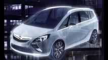 Nova Opel Zafira será apresentada no Salão de Genebra
