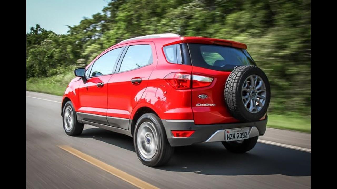 Ford EcoSport foi o mais vendido do segmento em fevereiro
