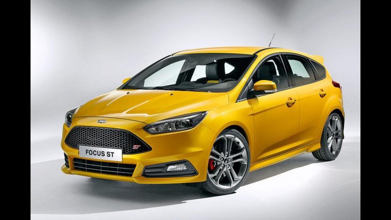 Flagra! Versões ST do Fiesta e do Focus estão no Brasil