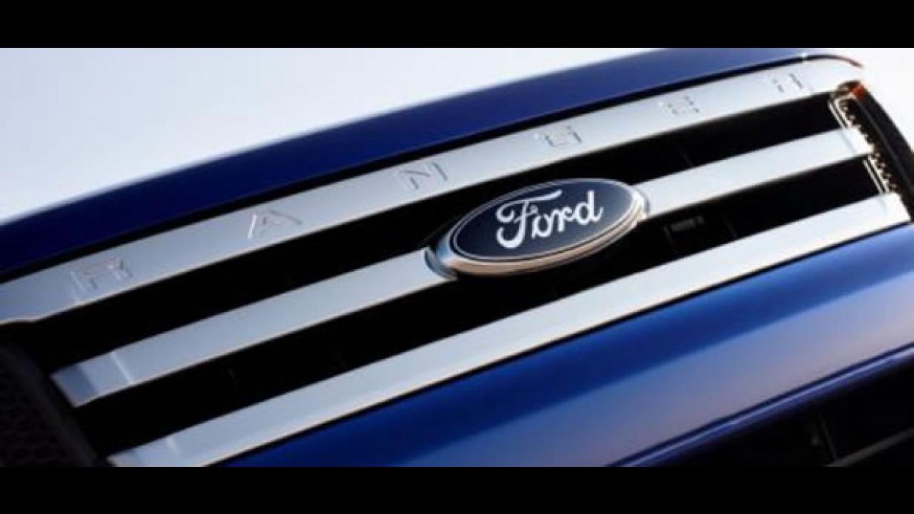 Ford divulga teaser da nova Ranger