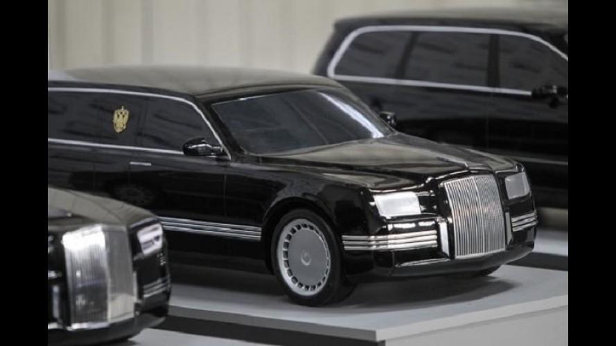 Ostentação: nova limousine de Vladimir Putin será feita com ajuda da Porsche