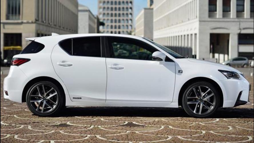 Lexus CT Hybrid, novità dallo sguardo familiare