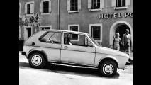 Volkswagen Golf, immagini storiche