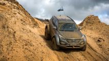 Hyundai Santa Fe, la prova della regina dell'Antartide