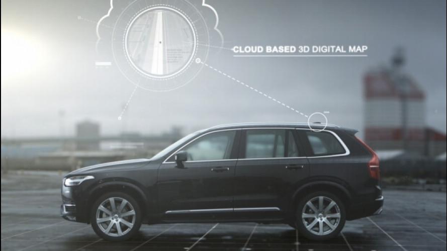 Le Volvo che si guidano da sole arrivano nel 2021
