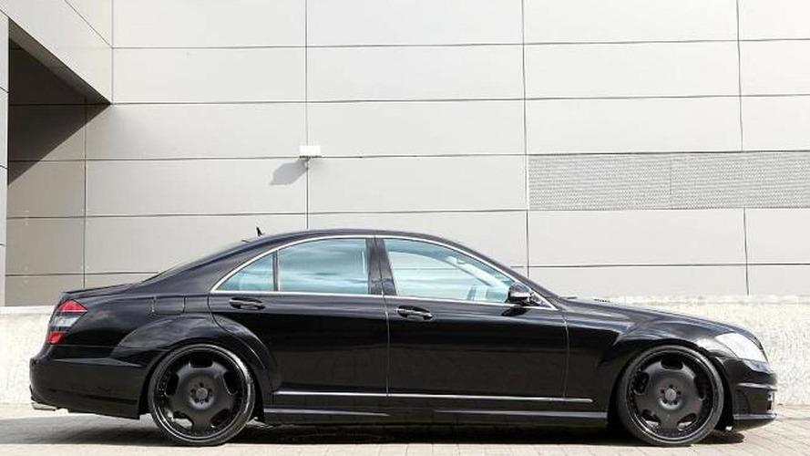 MEC Design tunes the Mercedes-Benz S550