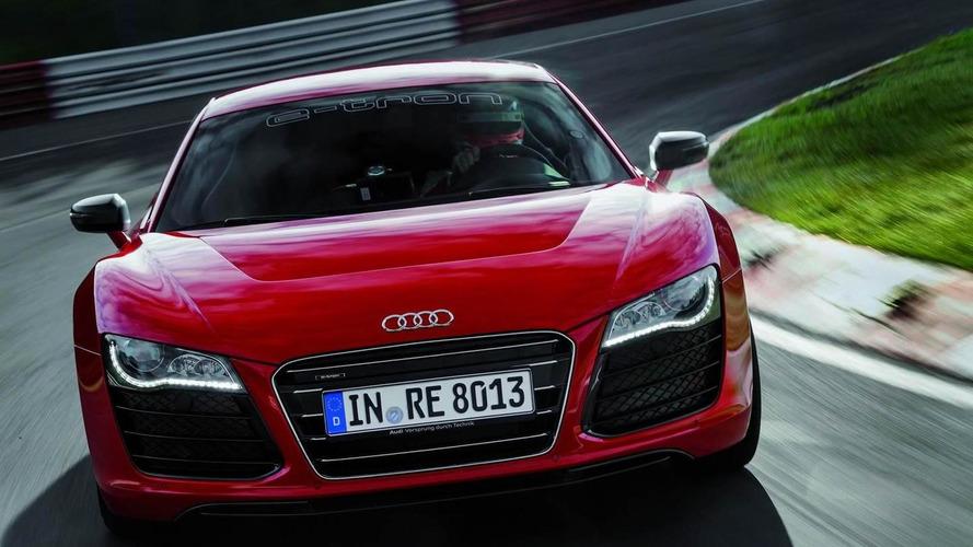 Audi R8 e-tron sets record 8:09 time around Nurburgring