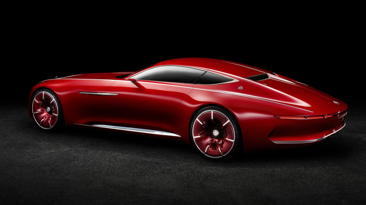 Mercedes-Maybach Vision 6 Concept