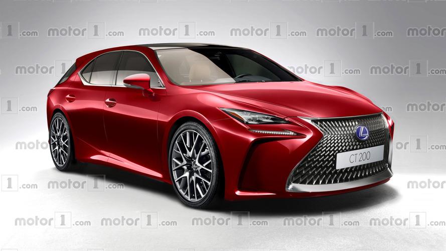 Une première étude de style pour la Lexus CT 200h