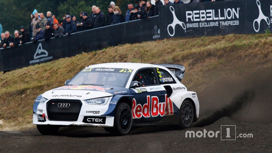 World RX – Mattias Ekström champion du monde 2016