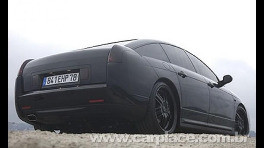 Citröen C6 Black Edition - Revista francesa mostra sedan totalmente preto