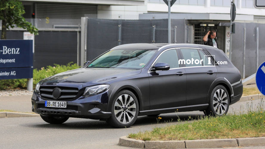 Mercedes E Class All Terrain spotted testing