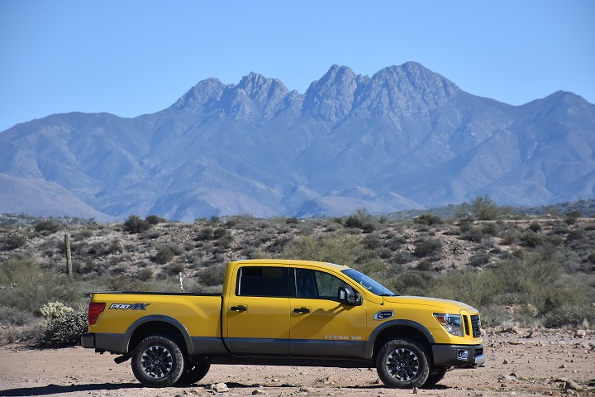 Is the 2016 Nissan Titan XD Just Right? First Drive