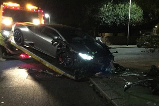 Soccer Star Diafra Sakho Crashed His Very Expensive Lamborghini