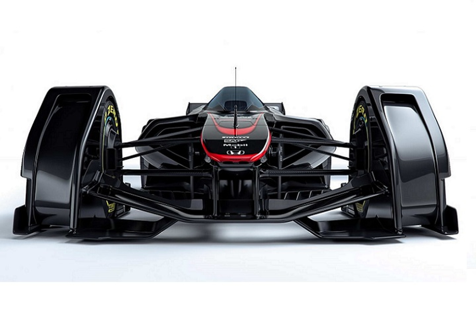 McLaren MP4-X Is a Formula 1 Car From the Future