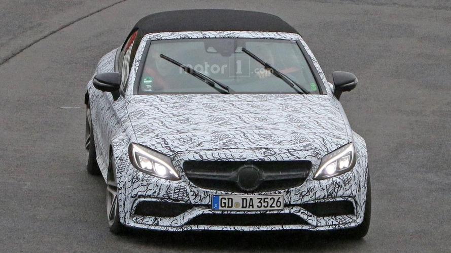 Spyshots de la Mercedes-AMG C63 Cabriolet