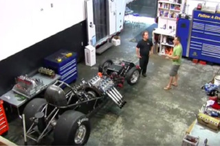 Watch a Blind Mechanic Remove a Funny Car Engine Alone