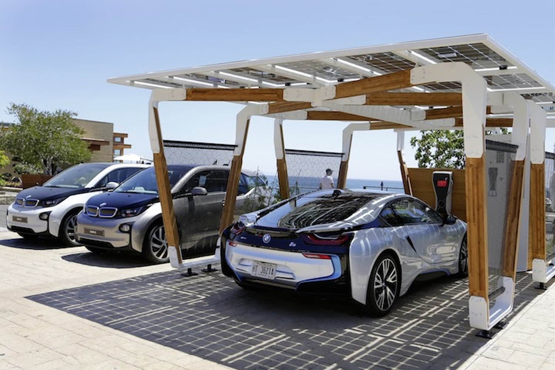 BMW Solar Charging Stations Could Be the (Heat) Wave of the Future