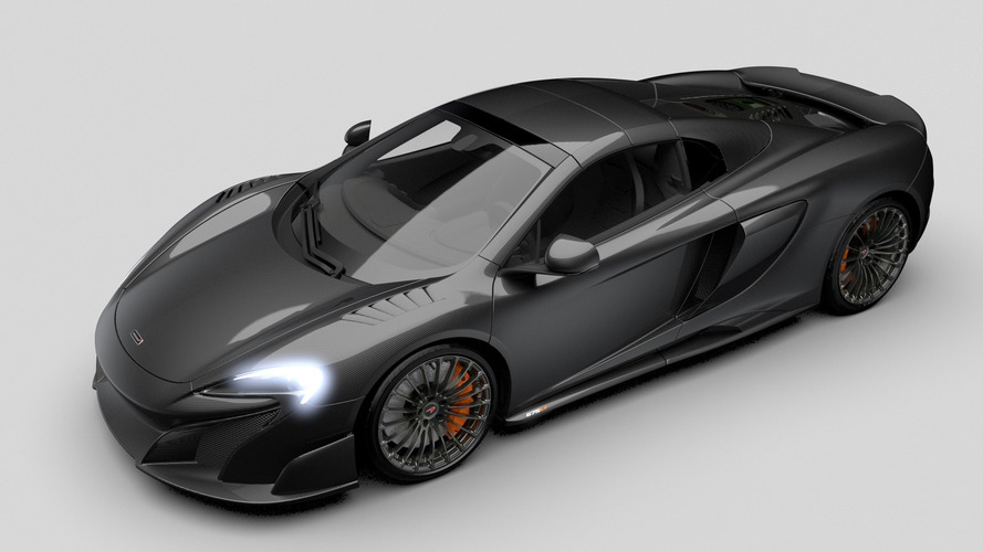 Une version full carbone de la McLaren 675 LT