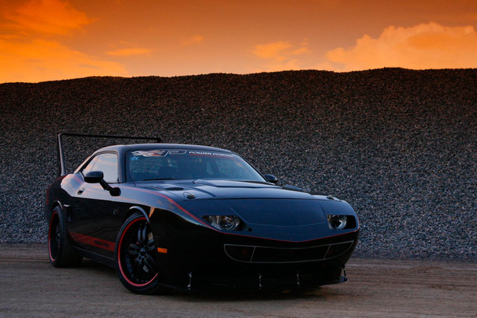 "2008 Dodge Challenger ""Superbird"" Custom Makes a Bold Statement"