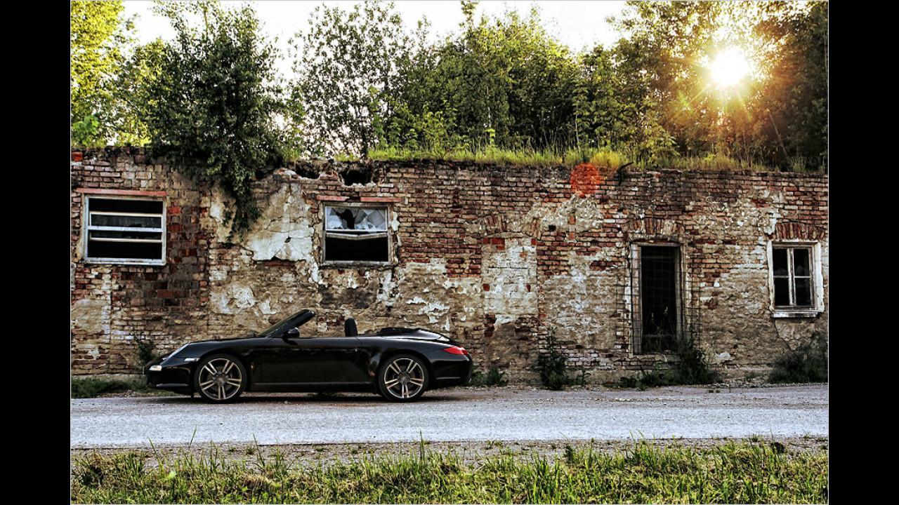 Porsche 911 Cabrio Black Edition