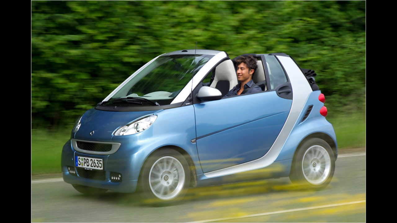 smart fortwo cabrio 0.8 cdi pure softip