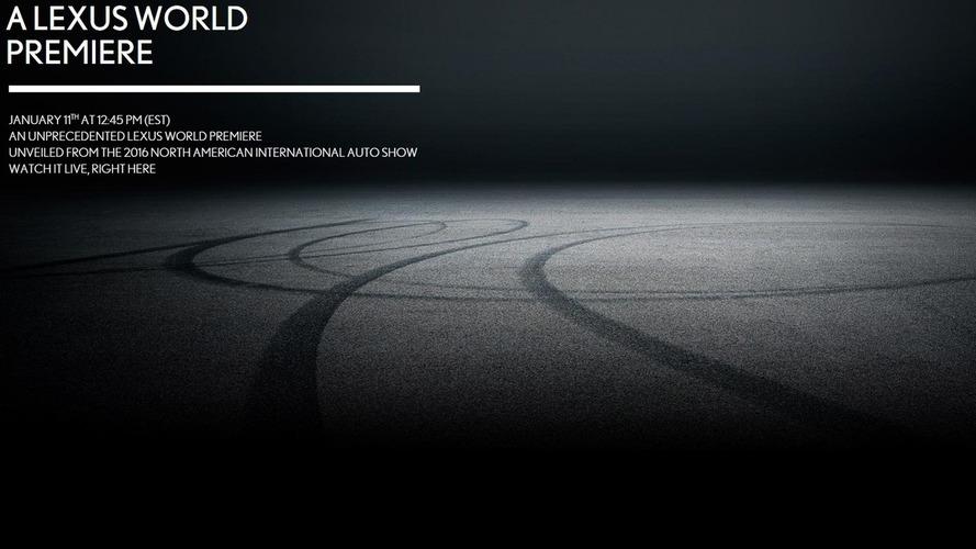 Lexus drops teaser for 'unprecedented' Detroit premiere, likely LC 500