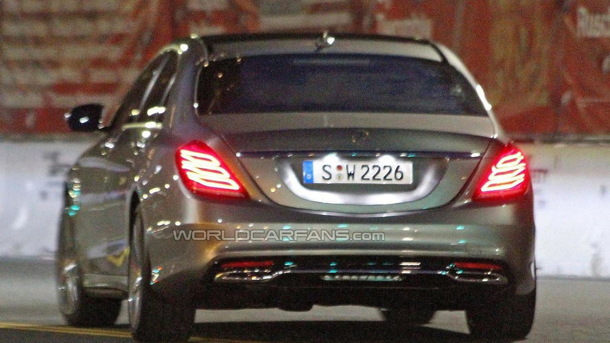 2014 Mercedes-Benz S-Class Plug-In Hybrid indirectly confirmed