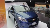 Chevrolet Sail live in Detroit 15.01.2013