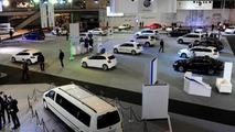 Volkswagen Caddy limousine concept live in Poznan 08.4.2013