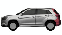 Mitsubishi Compact Crossover Design Illustrations