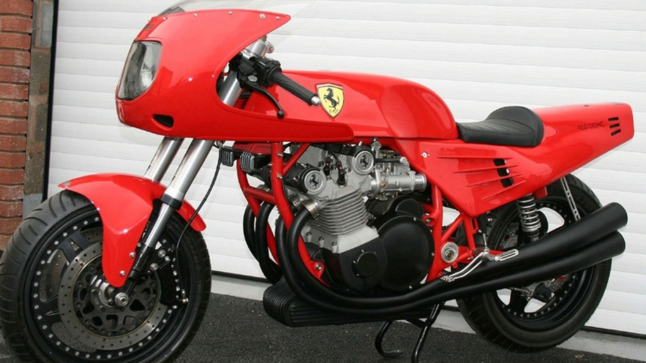 One-Off Ferrari MotorCycle