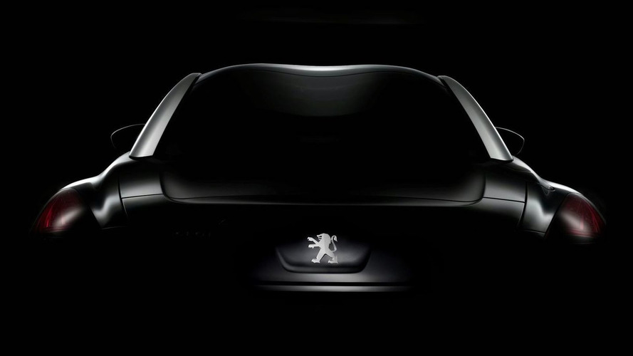 Peugeot 308 RCZ teaser released