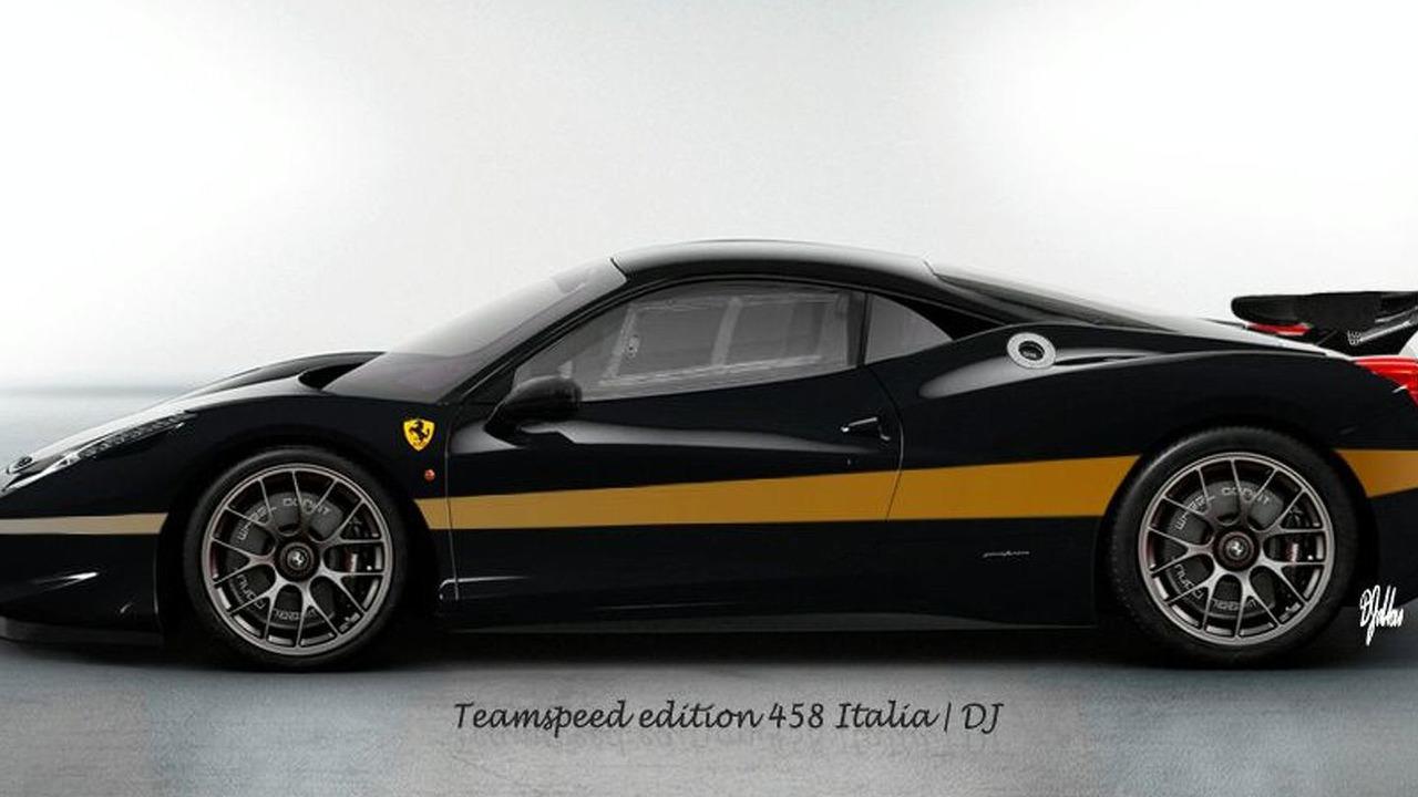 Ferrari 458 Italia Challenge artist rendering