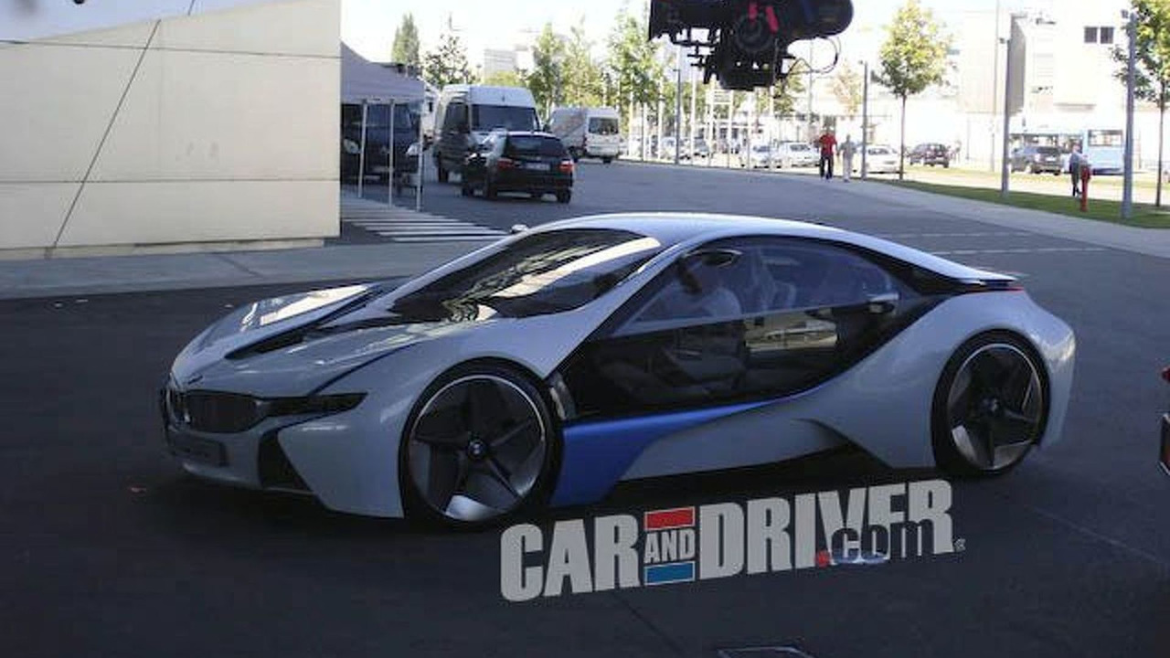 BMW Vision EfficienctDynamics Concept spotted at BMW Welt in Munich