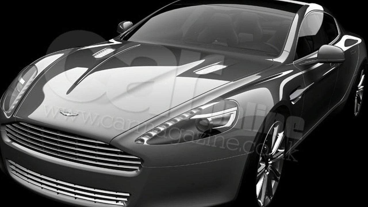 Aston Martin Rapide leaked image