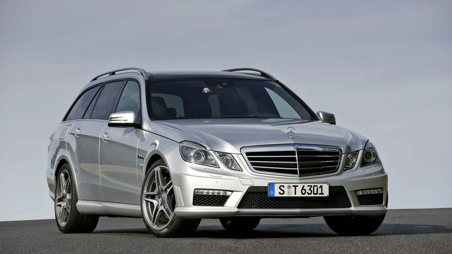 Mercedes-Benz E 63 AMG Estate Breaks Cover
