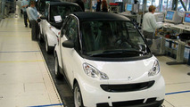 New smart fortwo production line